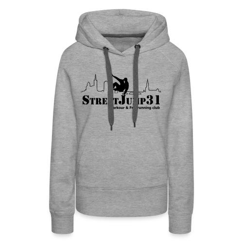 Sweat-shirt à capuche Premium pour femmes - france,freerunning,streetjump31,toulouse