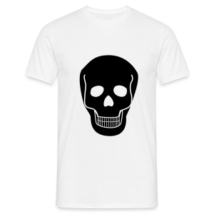 Shirt SKULL black - Männer T-Shirt
