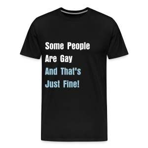 Just Fine! - Men's Premium T-Shirt