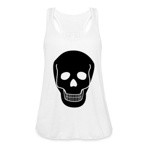 Top SKULL black - Frauen Tank Top von Bella