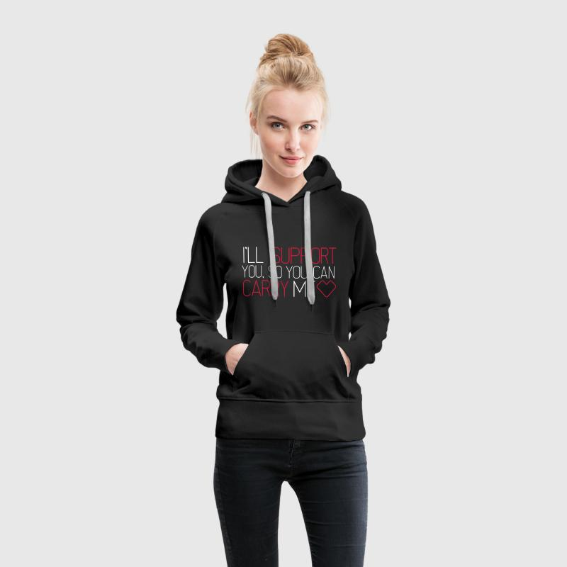 Support & Carry (LoL) Sweat-shirts - Sweat-shirt à capuche Premium pour femmes