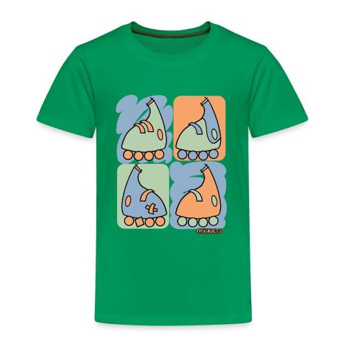 Camiseta niño Patín Warhol - Camiseta premium niño