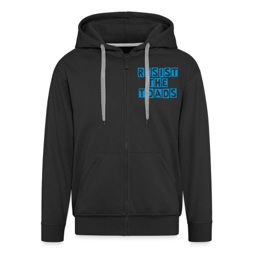 Resist or Enlightenment? - Men's Premium Hooded Jacket