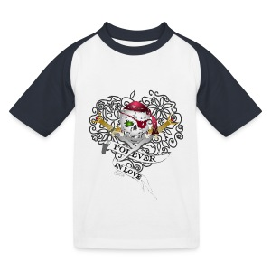 Forever In Love - Kids' Baseball T-Shirt