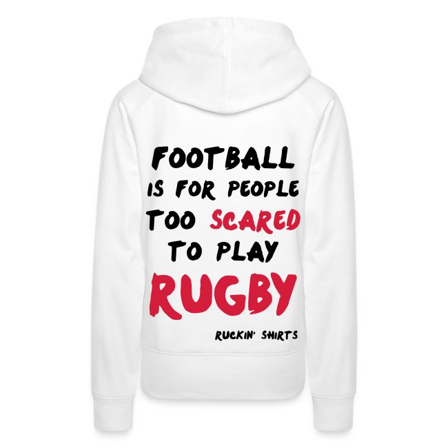 Scared to Play Rugby