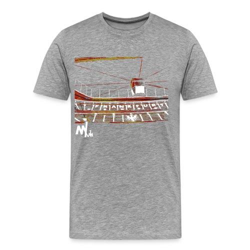 Waldstadion Men - grey - Männer Premium T-Shirt