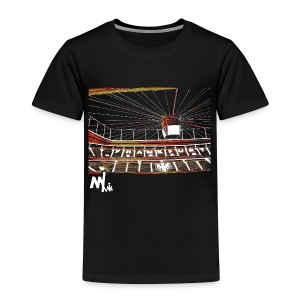 Waldstadion Kids - black - Kinder Premium T-Shirt