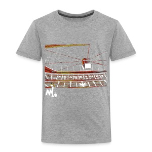 Waldstadion Kids - grey - Kinder Premium T-Shirt