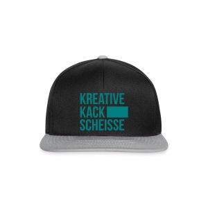 Kreativer Kopf - Snapback Cap