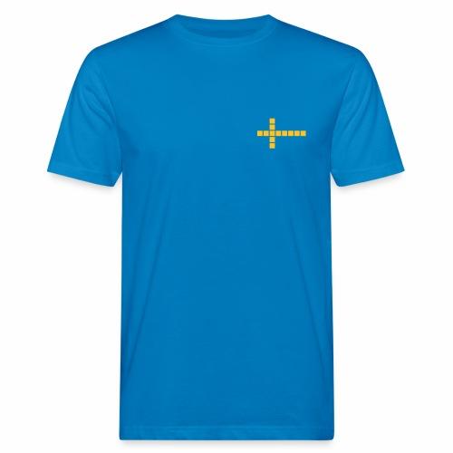 Schweden Flagge - Männer Bio-T-Shirt