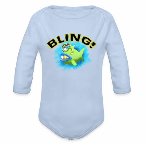 Baby bio-rompertje met lange mouwen