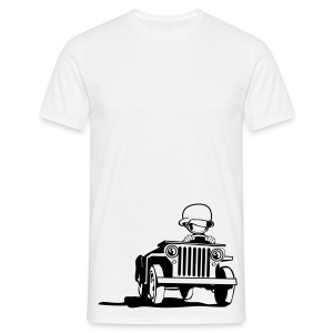 Willys cartoon - Mannen T-shirt