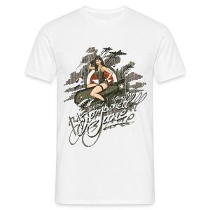 Bombshell Jane - Mannen T-shirt
