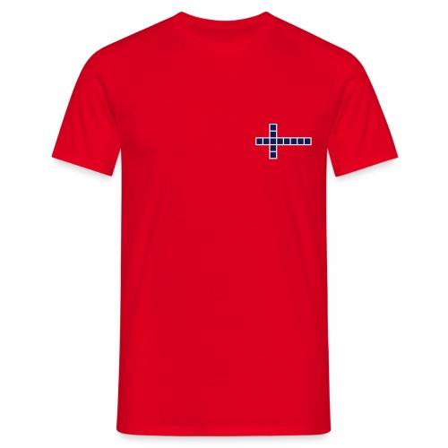 Norwegen Flagge - Männer T-Shirt