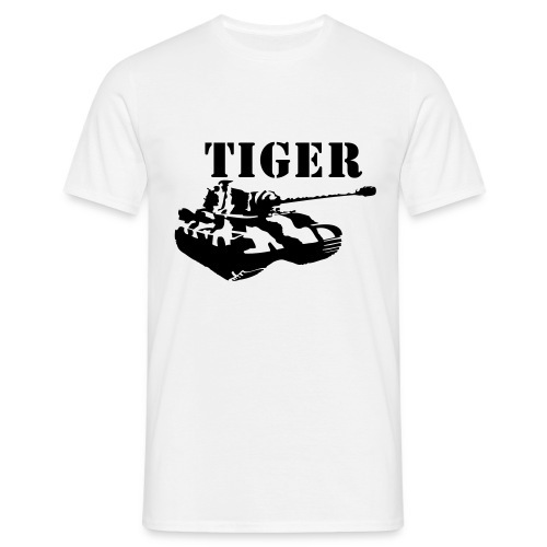 Koningstijger - Mannen T-shirt
