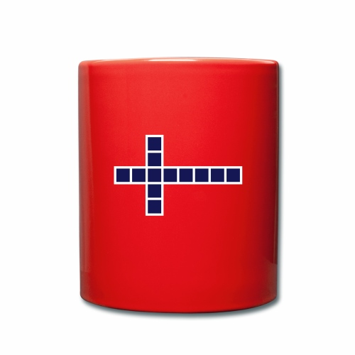 Norwegen Flagge - Tasse einfarbig
