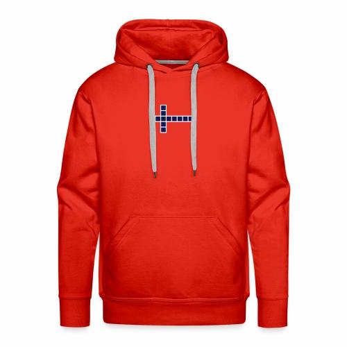 Norwegen Flagge - Männer Premium Hoodie