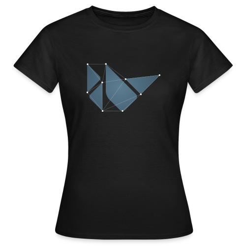 Black dotted teeshirt - Women's T-Shirt