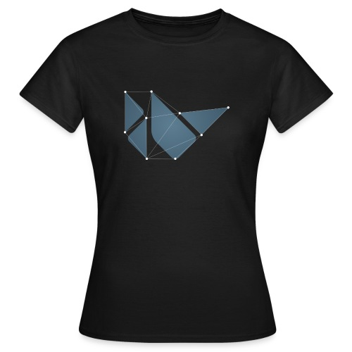 Black dotted teeshirt - Women's T-Shirt