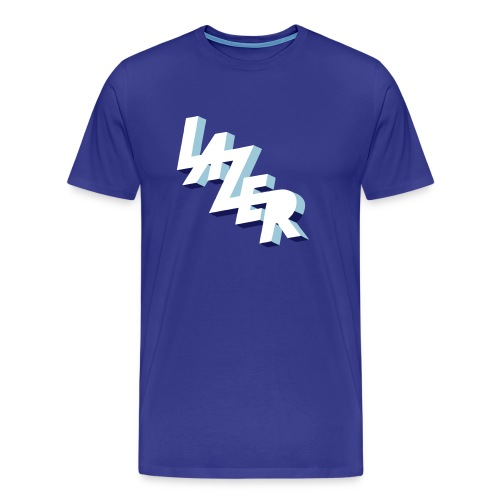 Lazer - Männer Premium T-Shirt