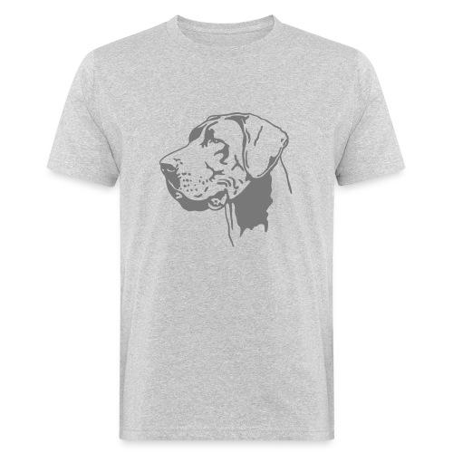 Deutsche Dogge - Männer Bio-T-Shirt