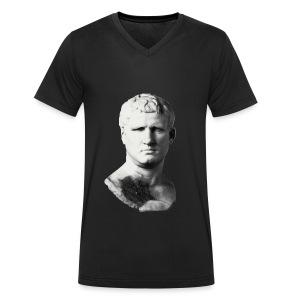 Black VIPsanius Agrippa #008092 - Men's Organic V-Neck T-Shirt by Stanley & Stella