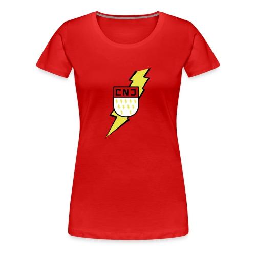 CNJ Blitz-Wappen Premium Frauen - Frauen Premium T-Shirt