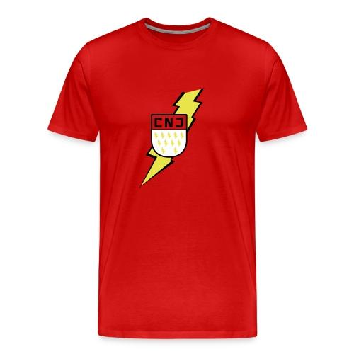 CNJ Blitz-Wappen Premium - Männer Premium T-Shirt