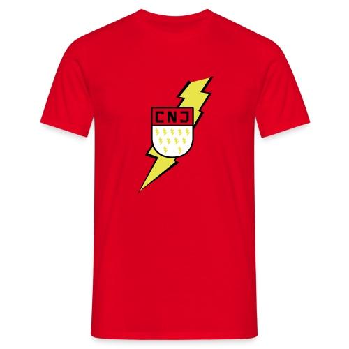 CNJ Blitz-Wappen Standard - Männer T-Shirt