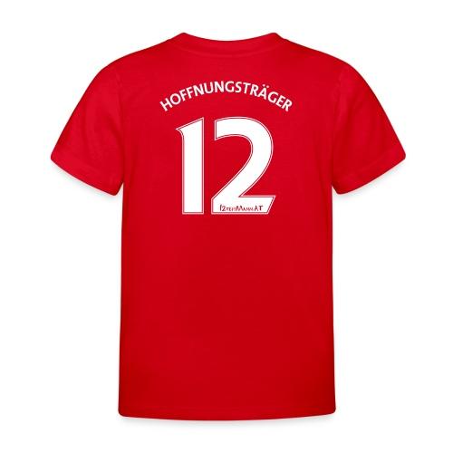 Hoffnungsträger, Rückennummer 12 (Kinder T-Shirt) - Kinder T-Shirt