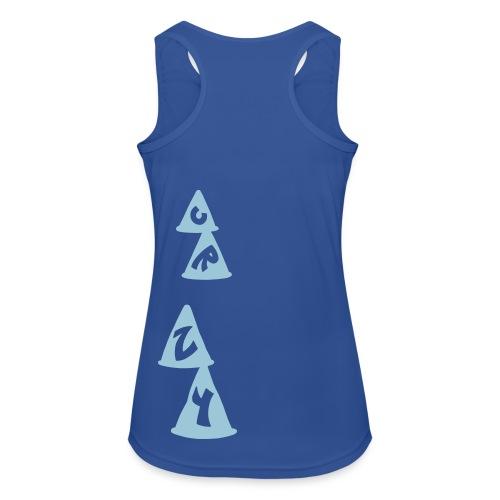 Tank top mujer slalom CRZY - Camiseta de tirantes transpirable mujer