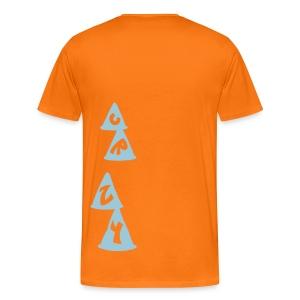 Camiseta hombre slalom CRZY - Camiseta premium hombre