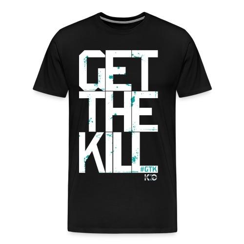 #GTK - Black - Men's - Men's Premium T-Shirt