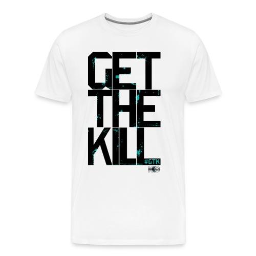 #GTK - White - Men's - Men's Premium T-Shirt