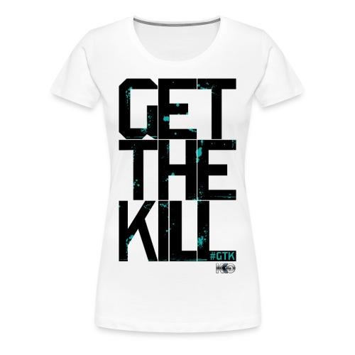 #GTK - White - Women's - Women's Premium T-Shirt