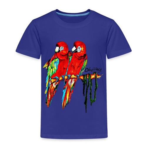 Papageien - Kinder Premium T-Shirt