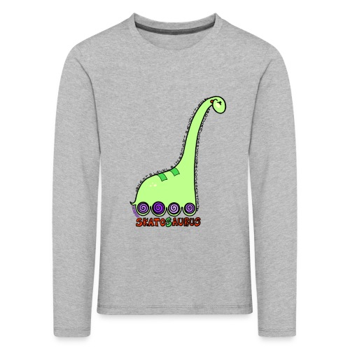 Camiseta niño manga larga Skatosaurus - Camiseta de manga larga premium niño