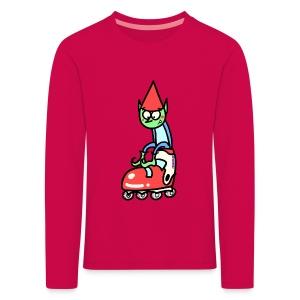 Camiseta niño manga larga Gnomo - Camiseta de manga larga premium niño