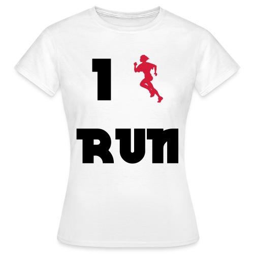 I love run - T-shirt Femme