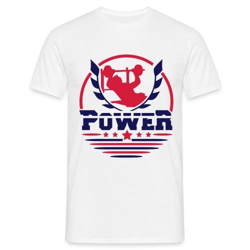 Power  - T-shirt Homme