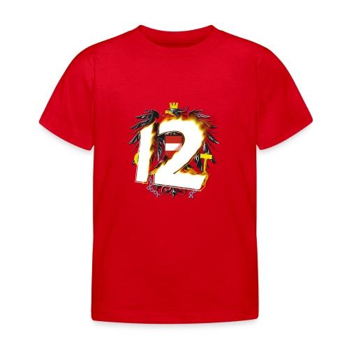 Österreich-Adler 12. Mann - Feuer & Flamme (Kinder T-Shirt) - Kinder T-Shirt