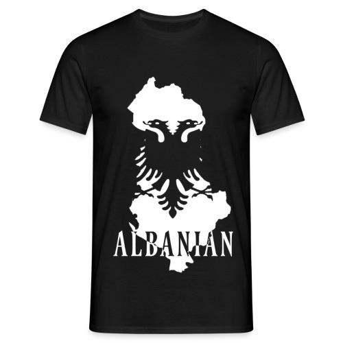 Albanian Flag T-Shirt - Männer T-Shirt