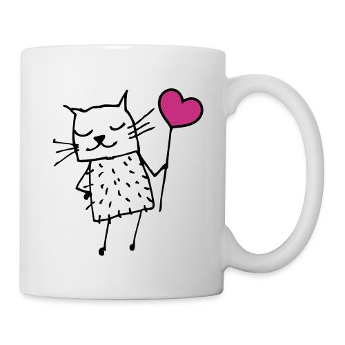 Katze Kaffeetasse - Tasse
