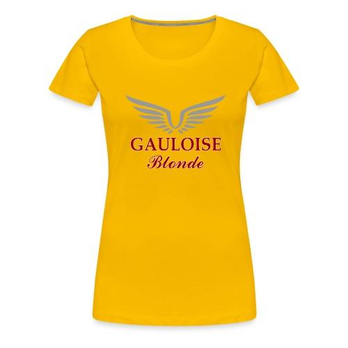 Gauloise blonde - T-shirt Premium Femme
