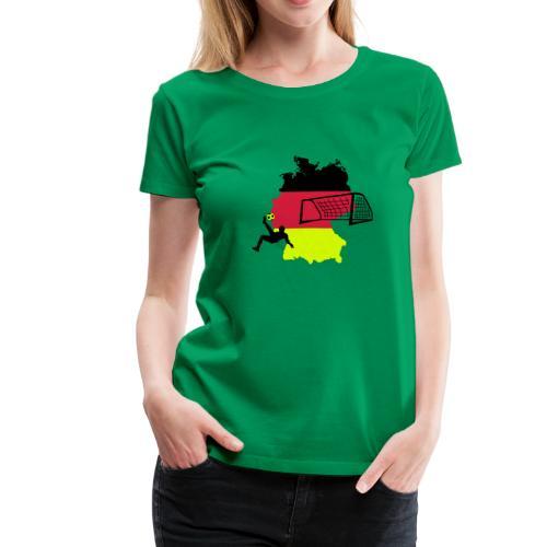 Fussball Deutschland - Frauen Premium T-Shirt