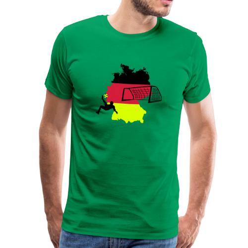 Fussball Deutschland - Männer Premium T-Shirt
