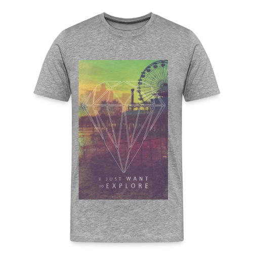 oneshxt Premium Herren T-Shirt Explore - Männer Premium T-Shirt