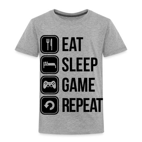 Eat, Sleep, Game, Repeat - Kids' Premium T-Shirt