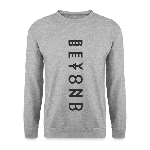BTI 'Double Vision' White Mens Sweatshirt - Men's Sweatshirt
