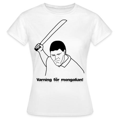 Mongolian - T-shirt dam